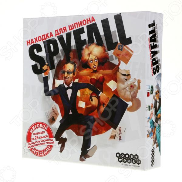 Игра настольная Мир Хобби «Находка для шпиона» вариант шедевра антимемуары шпиона