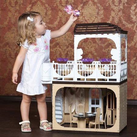 Купить Кукольный дом с аксессуарами Огонек «Коллекция» С-1293