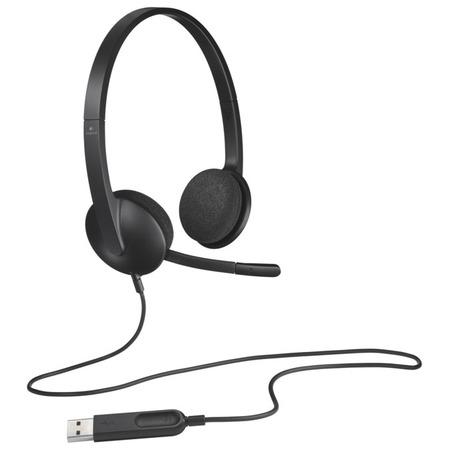 Купить Гарнитура Logitech USB Headset H340