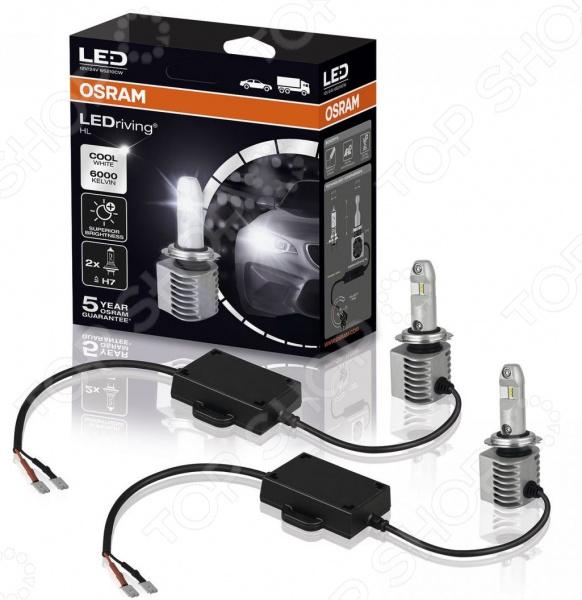 Автолампа светодиодная Osram LeDriving 65210CW usb перезаряжаемый высокой яркости ударопрочный фонарик дальнего света конвой sos факел мощный самозащита 18650 батареи