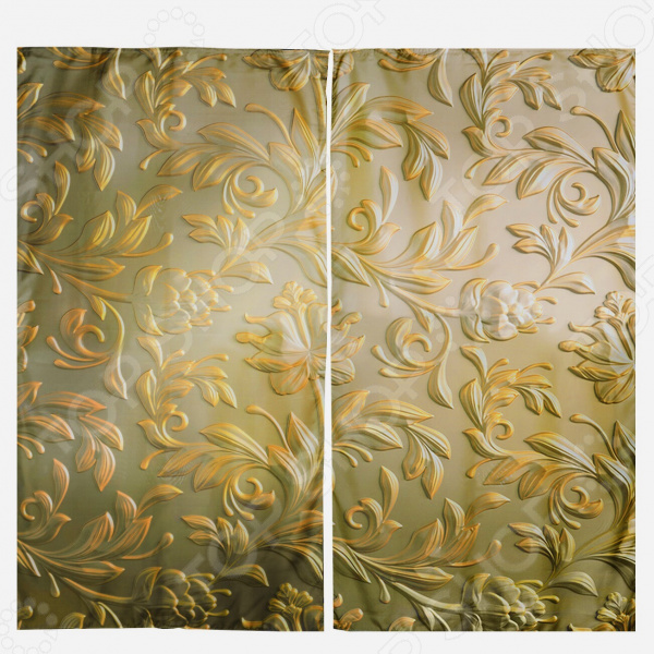 Комплект штор «Золотое сияние»