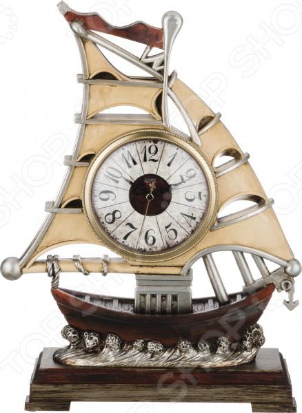 Часы настольные «Престиж». Дизайн: парусник