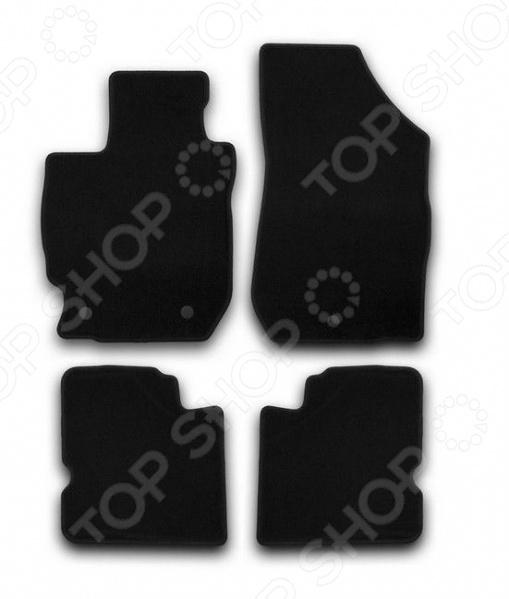Комплект ковриков в салон автомобиля Klever Nissan Almera 2012 Econom защита картера автоброня 111 04101 1 nissan almera classic 2006 2012 1 6 almera n16 sunny b15 bluebird sylphy