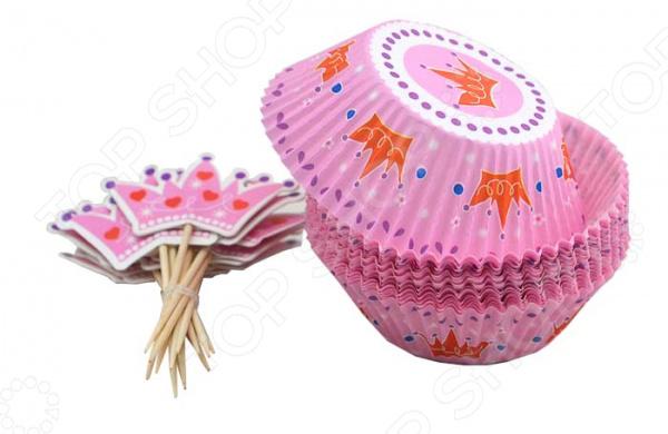 Набор для выпечки и украшения кексов Marmiton 17055. В ассортименте