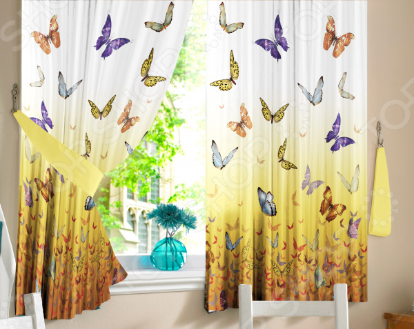 Комплект штор ТамиТекс Batterfly