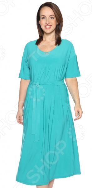 Платье Лауме-Лайн «Ласковый вечер». Цвет: бирюзовый