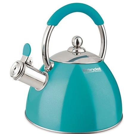 Купить Чайник со свистком Rondell Turquoise RDS-939