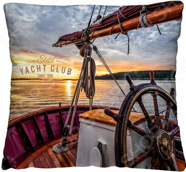 Подушка декоративная Волшебная ночь «Яхта»