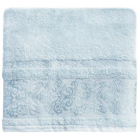 Купить Полотенце банное BONITA «Дамаск». Цвет: голубой