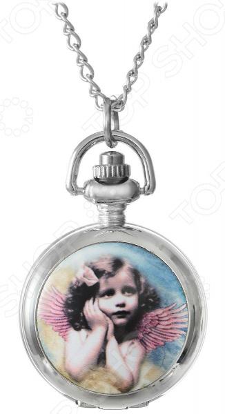 Кулон-часы Mitya Veselkov «Портрет девочки с крыльями»