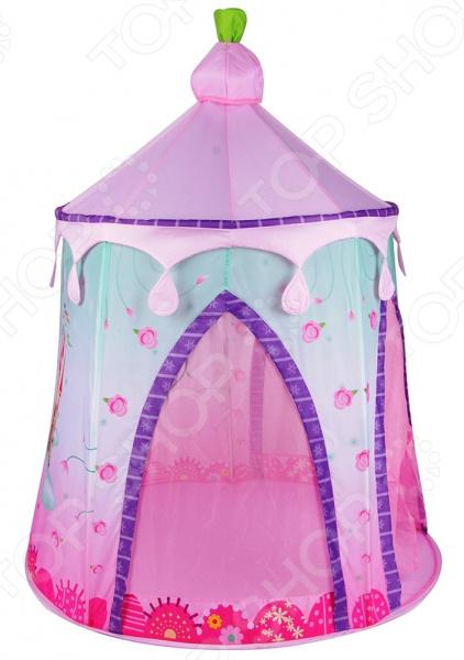 Палатка игровая Наша Игрушка «Замок» игрушки для улицы игровая палатка с мячиками 100 шт calida вилла 85х85х110см
