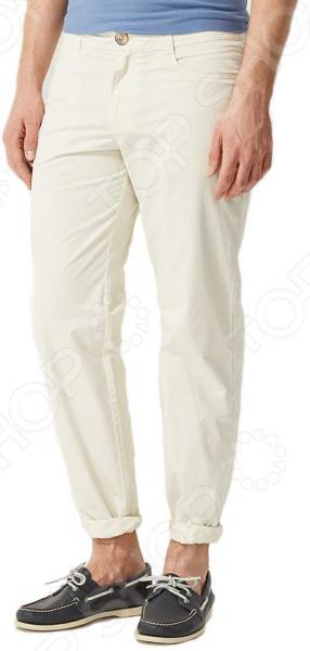 Брюки Finn Flare S16-22006. Цвет: светло-бежевый брюки finn flare s16 24008 цвет светло серый