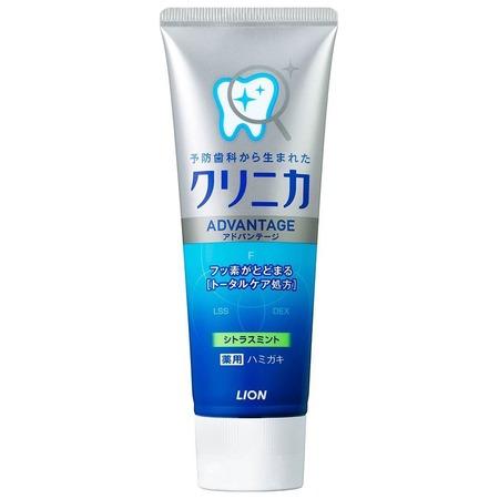 Купить Зубная паста Lion Clinica Advantage Citrus mint с ароматом цитруса и мяты