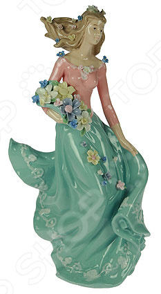 Статуэтка «Девушка с цветами»
