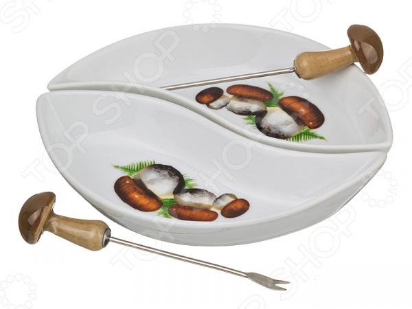 Блюдо с вилочкой Villa Bianca 178-755