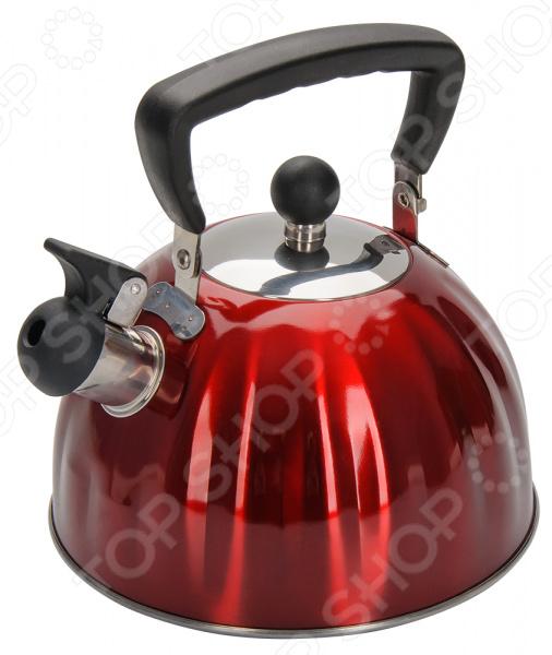 Чайник со свистком Regent 94-1506 чайник regent inox promo со свистком 2 3 л 94 1503