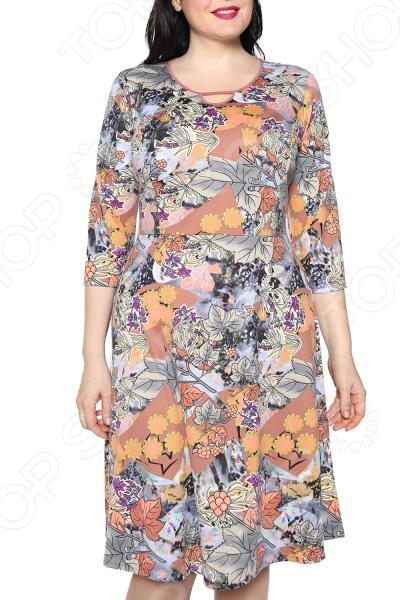 Платье Лауме-стиль «Звезда моя». Цвет: серый