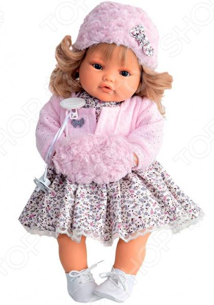 Кукла интерактивная Munecas Antonio Juan «Белла в розовом» кукла интерактивная munecas antonio juan каталина блондинка