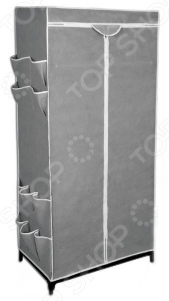 Вешалка-гардероб с чехлом Sheffilton EL-2013 представляет собой компактное и практичное решение для хранения вещей. Каркас стойки выполнен из металлических трубок и пластиковых соединительных крепежей. Кроме того, предусмотрена промежуточная полка из плотного нетканого материала и металлическая штанга для вешалок-плечиков. Плотный чехол, поставляемый в комплекте, защитит вашу одежду от пыли, грязи и влаги. Модель предусматривает боковые карманы для хранения вещей. Максимальная нагрузка на штангу составляет 15кг, на полку 17 кг.