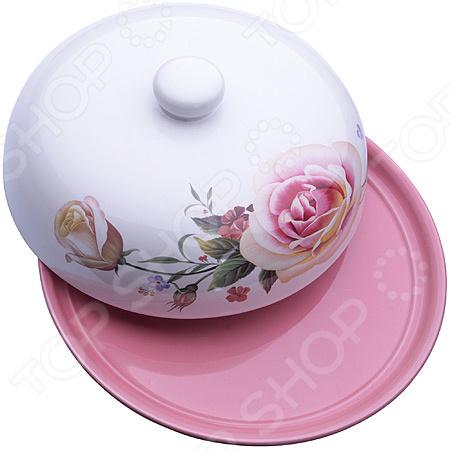 Блюдо для блинов Loraine LR-27744 «Розы» блюдо для блинов loraine розы цвет белый розовый желтый