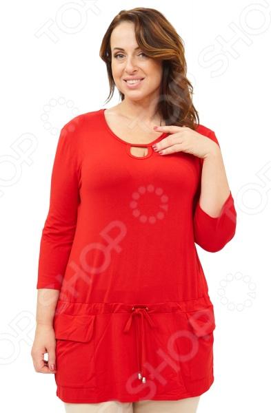 Туника Матекс «Калерия». Цвет: красный  туника матекс чистый взгляд цвет красный