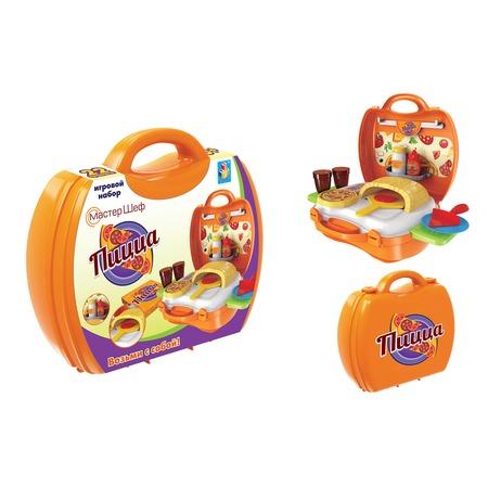 Купить Игровой набор для ребенка 1 Toy в чемоданчике «Мастер-Шеф: Пицца»