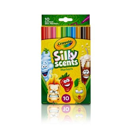 Набор ароматизированных фломастеров Crayola с тонким пером