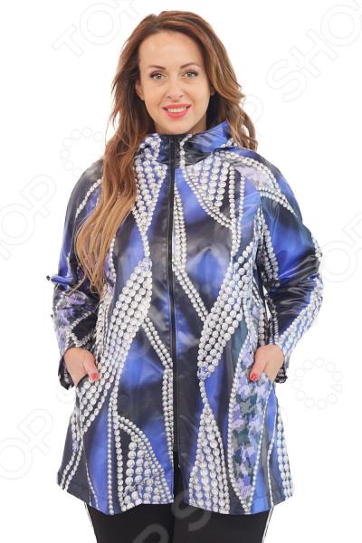 Куртка Лауме-Лайн «Леди Осень». Цвет: синий