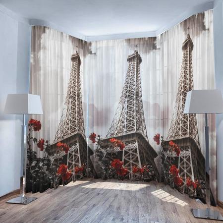 Купить Фототюль ТамиТекс «Эйфелева башня»