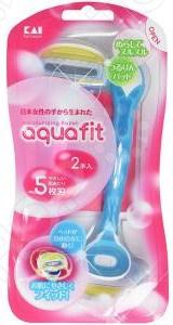 Набор бритв одноразовых KAI Aquafit