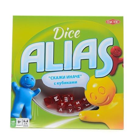 Игра настольная для компании Tactic Alias с кубиками