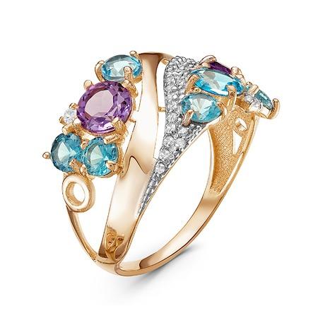 Купить Кольцо «Сияние самоцветов» 100-1146