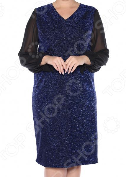 Платье VEAS «Бурлеск». Цвет: синий lovaru ™ 2017 платье для женщин платье вечернее платье для женщин