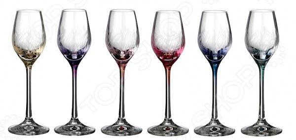 Набор рюмок Bohemia Crystal «Виола» набор рюмок коралл 40600 q7586 60 анжела