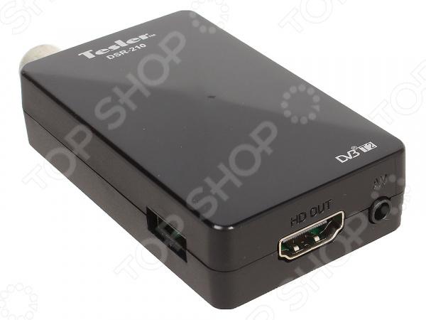 Ресивер Tesler DSR-210 куплю видеокамеру sony dsr pd170p