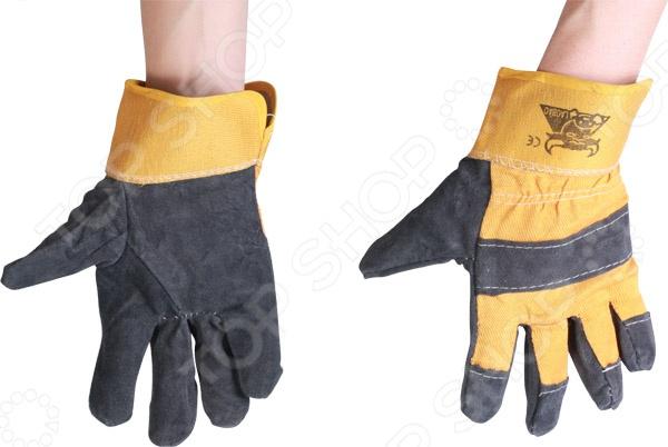 Перчатки спилковые Brigadier 95061