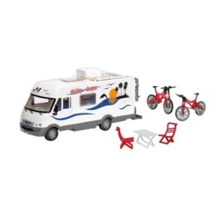 Купить Машина игрушечная Dickie «Трейлер-дом на колесах»
