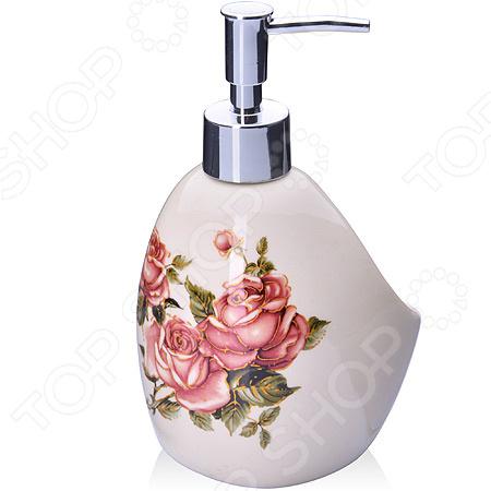 Диспенсер для мыла Loraine LR-27751 «Розы»