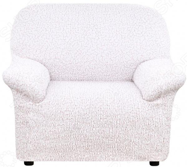 Натяжной чехол на кресло Еврочехол «Тела Пианта»