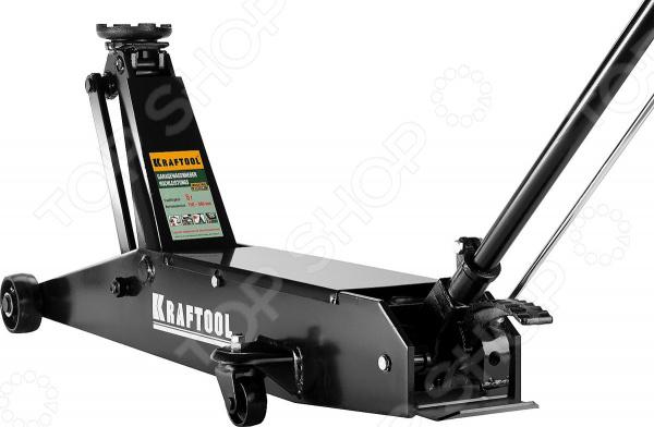 Домкрат гидравлический подкатной Kraftool High-Lift удлиненный 43455-5