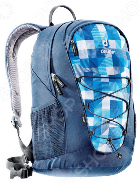 Рюкзак городской Deuter Daypacks Go Go 25 blue arrowcheck рюкзак городской deuter daypacks giga 28 blue arrowcheck