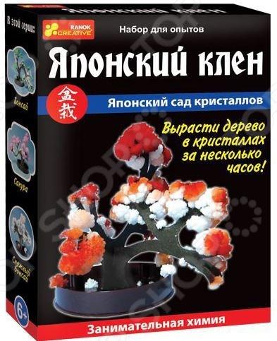 Набор для выращивания Ранок «Японский сад кристаллов. Японский клен» наборы для выращивания растений вырасти дерево набор для выращивания ель канадская голубая