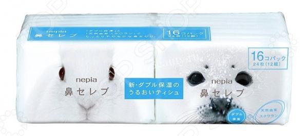 Платки бумажные Nepia Funny Noses 626376