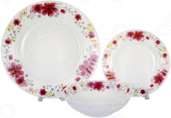 Набор столовой посуды OlAff «Алькор» набор столовой посуды olaff алькор 13 предметов