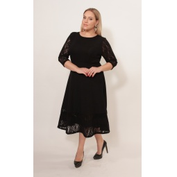 Платье Матекс «Тайная встреча». Цвет: черный
