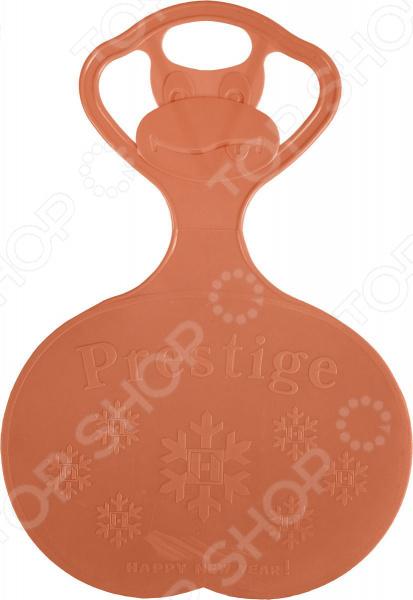 Санки-ледянки Престиж с символикой. В ассортименте Санки-ледянки Престиж с символикой /Оранжевый