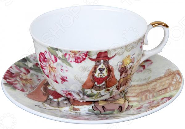 Чайная пара Rosenberg RCE-255003 Dog чайный набор rosenberg rce 255003 dog