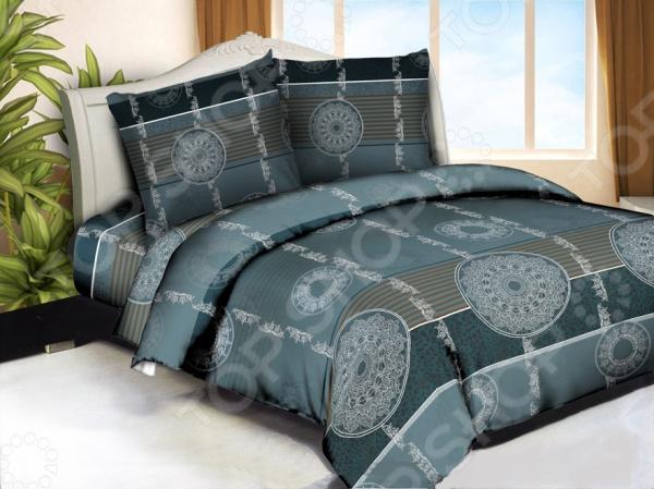 Комплект постельного белья Бояртекс «Кружевные круги». 1,5-спальный