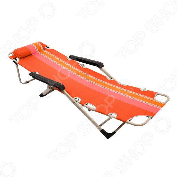 Кресло-шезлонг складной Boyscout Orange