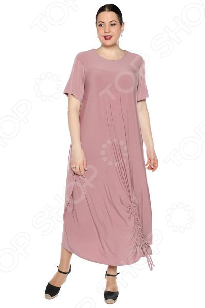 Платье Kidonly «Романтичный день». Цвет: розовый